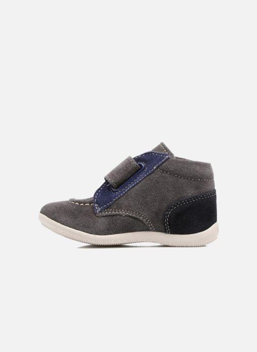 Chaussures à scratch Kickers Bono Gris vue face