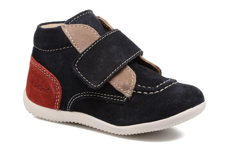 c45fa308c488c1 Kickers Bono (Bleu) - Chaussures à scratch chez Sarenza (308353)