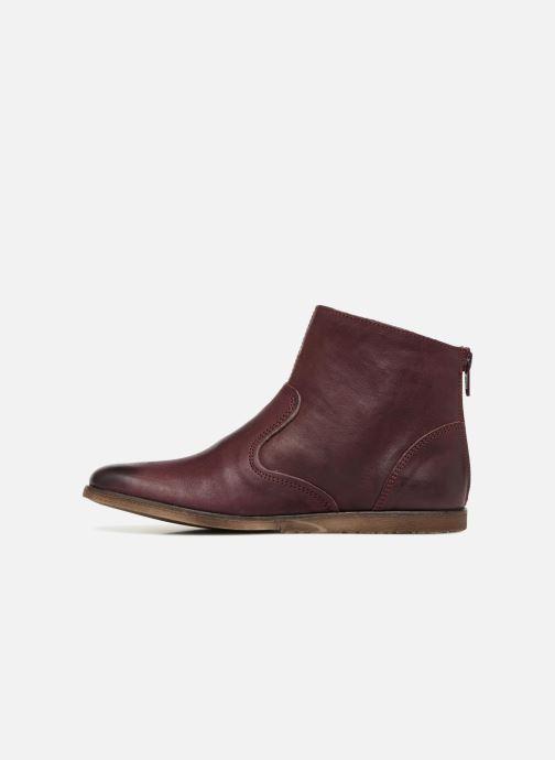 Bottines et boots Kickers Roxanna E Bordeaux vue face
