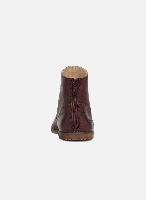 Bottines et boots Kickers Roxanna E Bordeaux vue droite