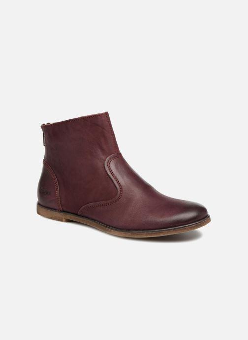 Bottines et boots Kickers Roxanna E Bordeaux vue détail/paire