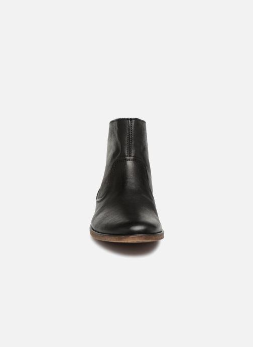 Bottines et boots Kickers Roxanna E Noir vue portées chaussures