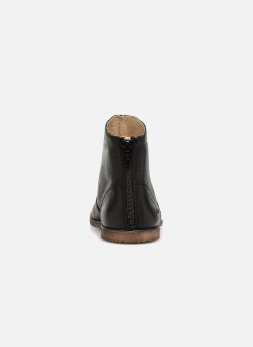 Bottines et boots Kickers Roxanna E Noir vue droite