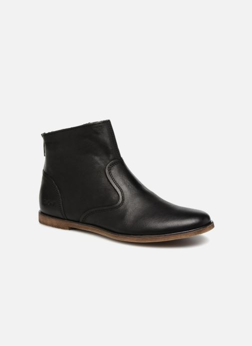 Bottines et boots Kickers Roxanna E Noir vue détail/paire
