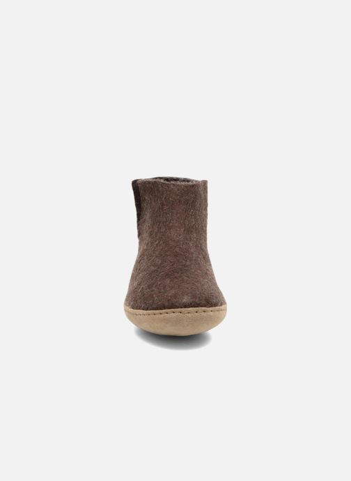 Pantoffels Glerups Poras M Bruin model