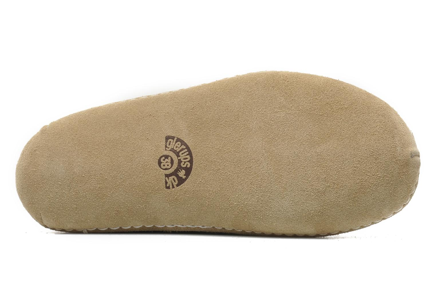 Slippers Glerups Porter W Black view from above