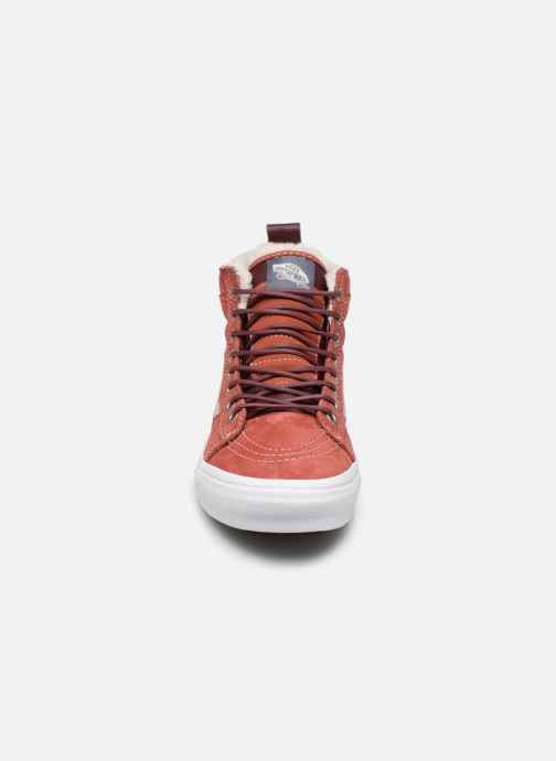 Trainers Vans SK8-Hi MTE W Red model view