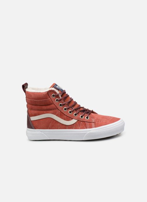Trainers Vans SK8-Hi MTE W Red back view