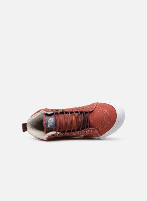 Baskets Vans SK8-Hi MTE W Rouge vue gauche