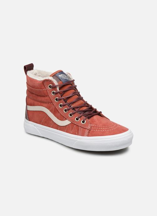 Trainers Vans SK8-Hi MTE W Red detailed view/ Pair view