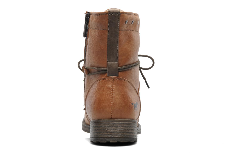 Bottines et boots Mustang shoes Bigz Marron vue droite