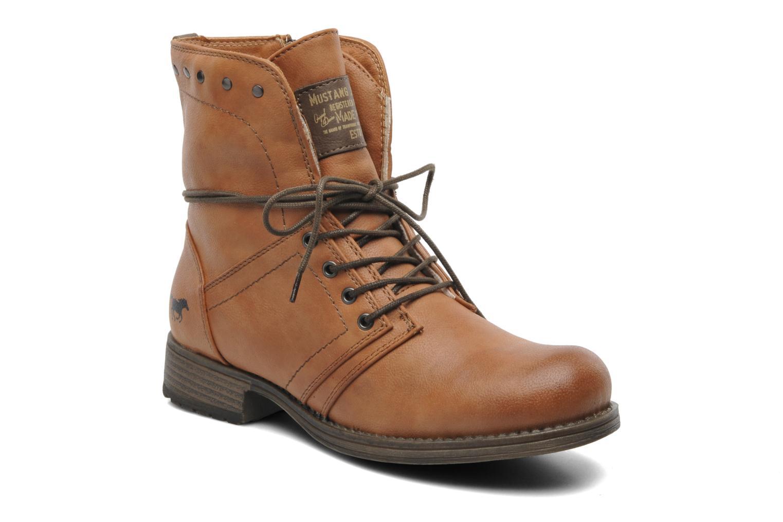 Bottines et boots Mustang shoes Bigz Marron vue détail/paire