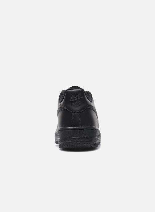 Trainers Nike Air Force 1 (Gs) Black view from the right