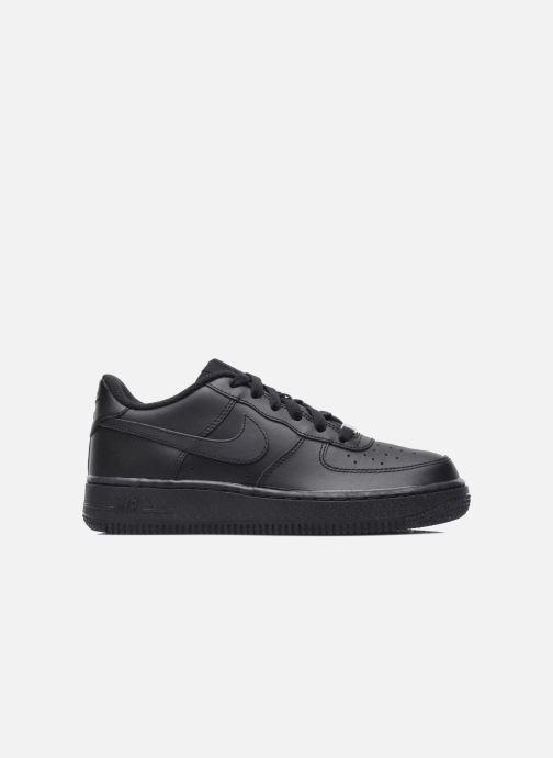 Sneaker Nike Air Force 1 (Gs) schwarz ansicht von hinten