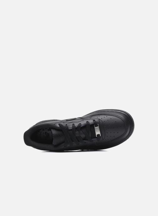 Sneakers Nike Air Force 1 (Gs) Zwart links