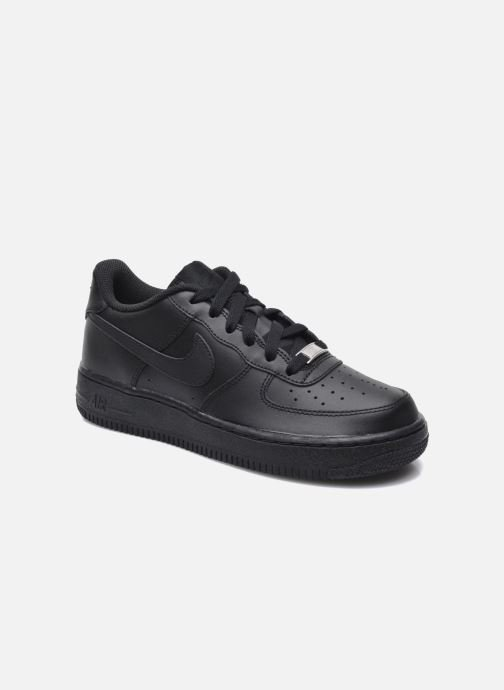 Deportivas Nike Air Force 1 (Gs) Negro vista de detalle / par