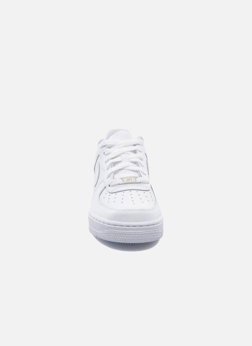 Baskets Nike Air Force 1 (Gs) Blanc vue portées chaussures
