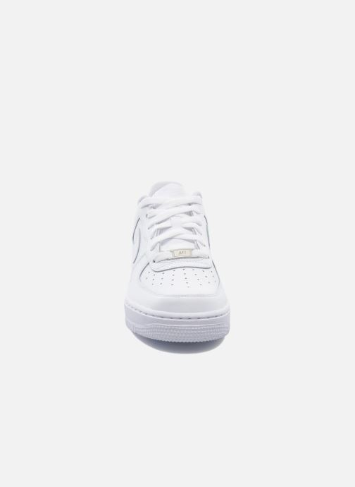 Deportivas Nike Air Force 1 (Gs) Blanco vista del modelo