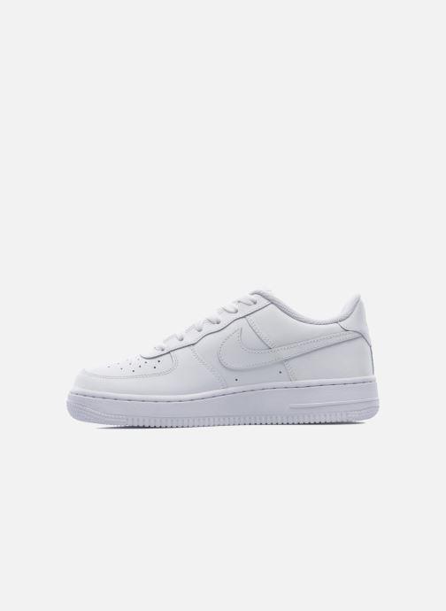 Deportivas Nike Air Force 1 (Gs) Blanco vista de frente