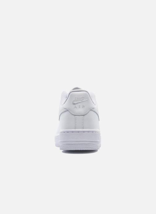 Deportivas Nike Air Force 1 (Gs) Blanco vista lateral derecha