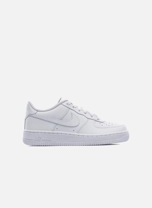 Sneaker Nike Air Force 1 (Gs) weiß ansicht von hinten