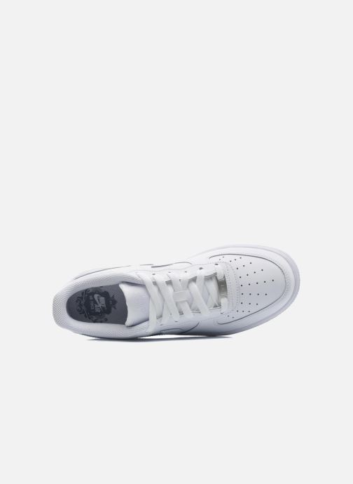 best sneakers 0beb3 f2256 Baskets Nike Air Force 1 (Gs) Blanc vue gauche