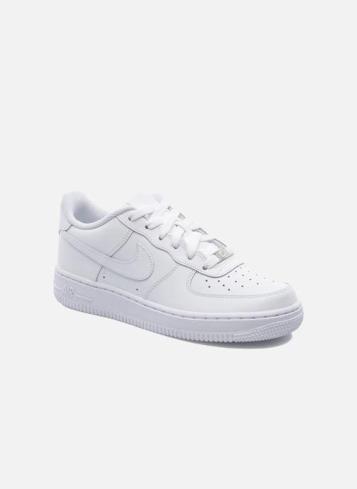 Deportivas Nike Air Force 1 (Gs) Blanco vista de detalle / par