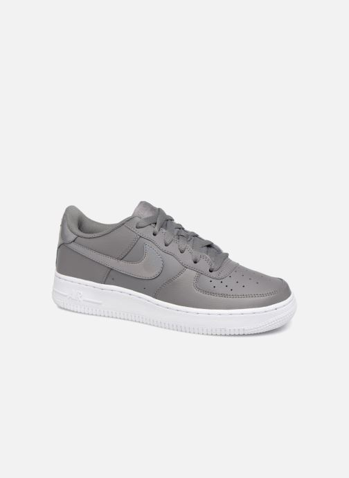 innovative design 2dc58 2d4f8 Baskets Nike Air Force 1 (Gs) Gris vue détail paire