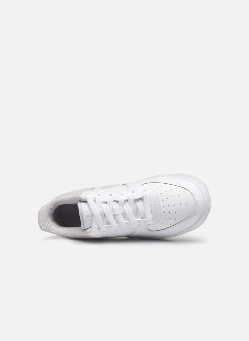 Sneakers Nike Air Force 1 (Gs) Bianco immagine sinistra