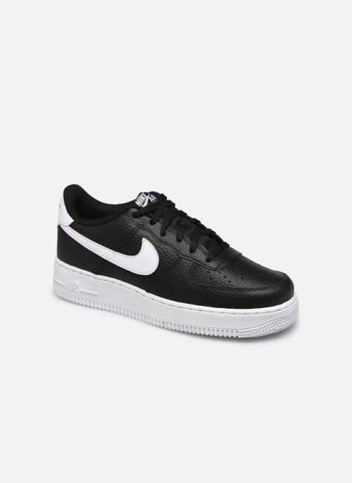 Sneaker Nike Air Force 1 (Gs) schwarz detaillierte ansicht/modell