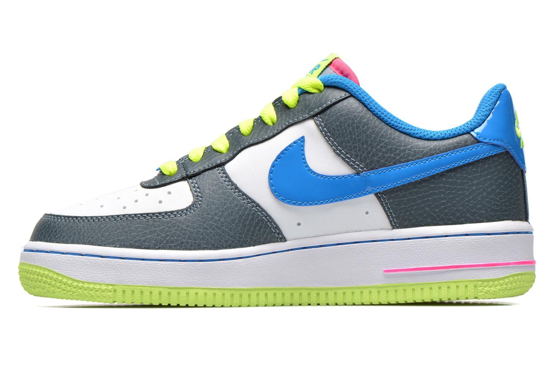 Baskets Nike Air Force 1 (Gs) Bleu vue face