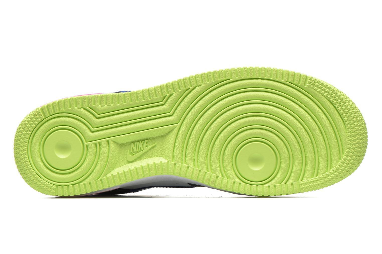 Baskets Nike Air Force 1 (Gs) Bleu vue haut