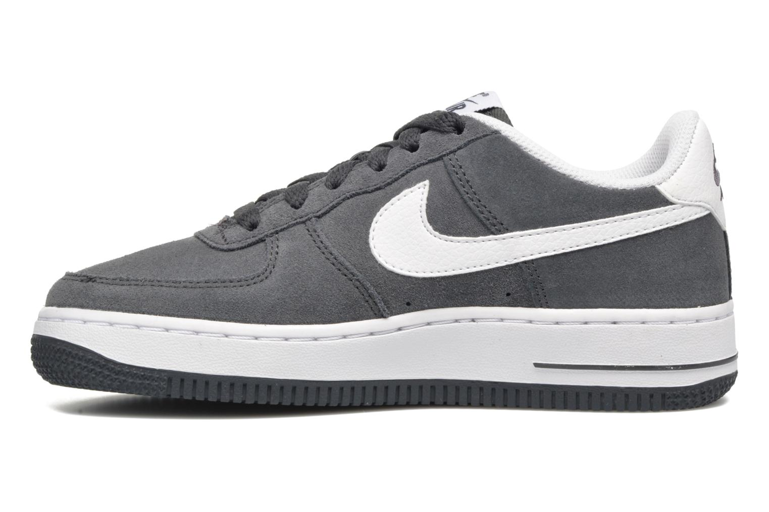 Baskets Nike Air Force 1 (Gs) Gris vue face