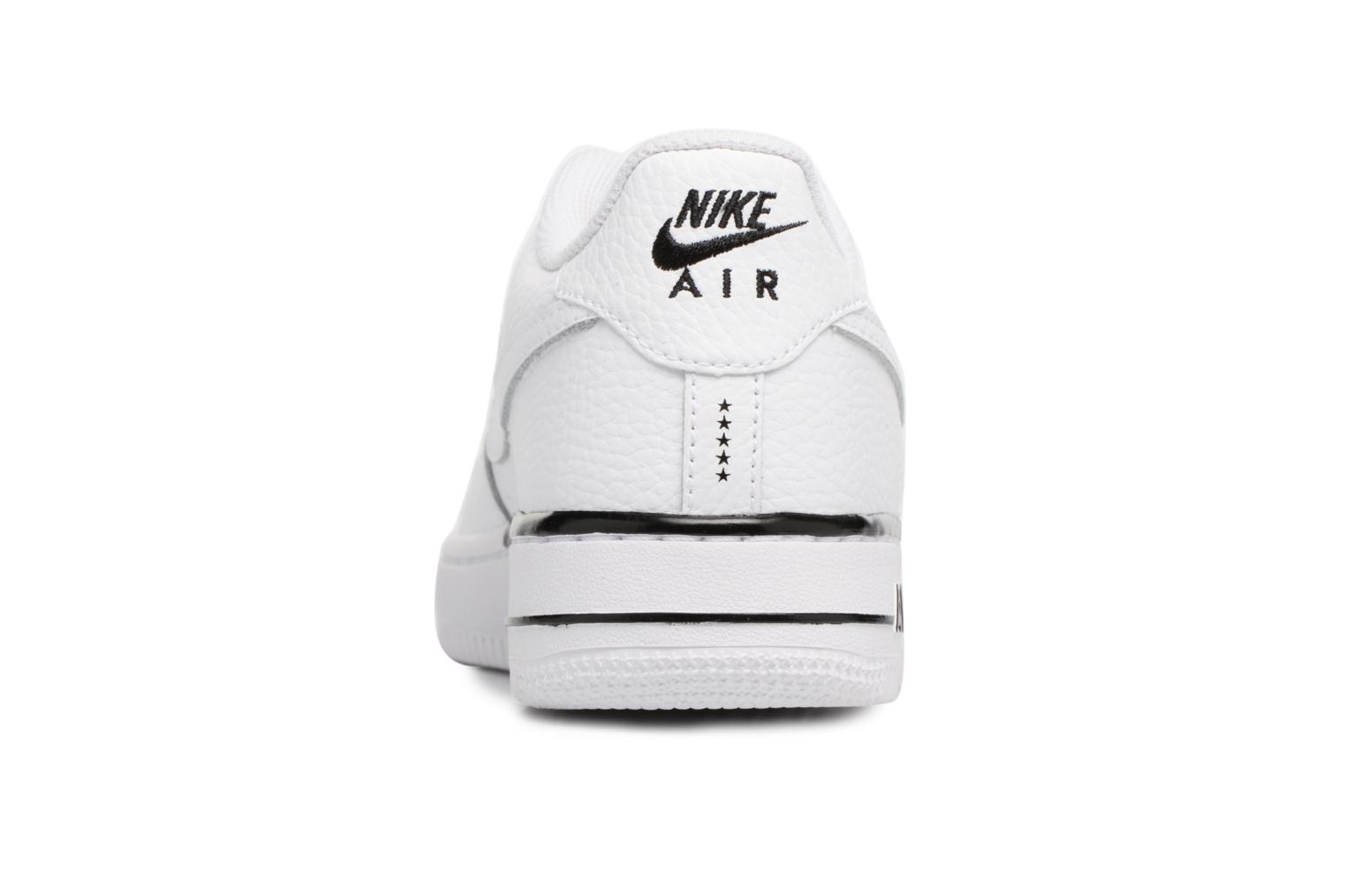 Trainers Nike Air Force 1 (Gs) White view from the right