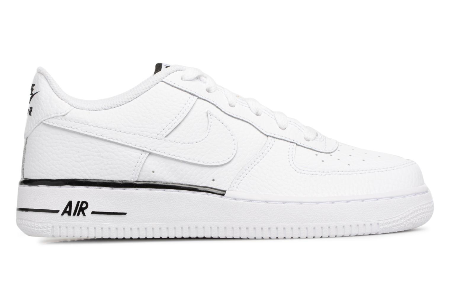 Trainers Nike Air Force 1 (Gs) White back view