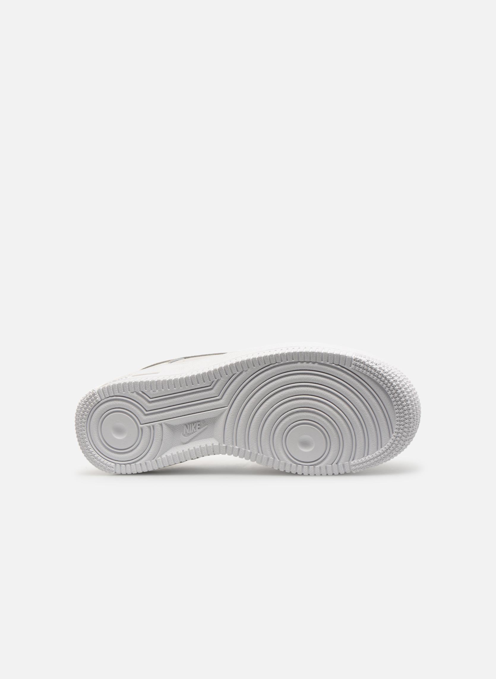 Baskets Nike Air Force 1 (Gs) Blanc vue haut