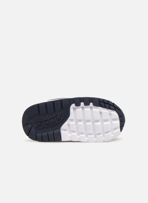 Baskets Nike Nike Air Max 1 (Td) Bleu vue haut