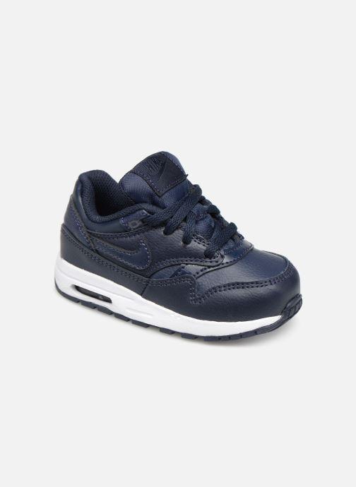 Baskets Nike Nike Air Max 1 (Td) Bleu vue détail/paire