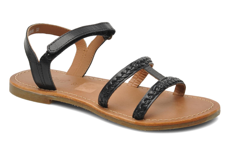 Sandalen Kickers Djerry V schwarz detaillierte ansicht/modell