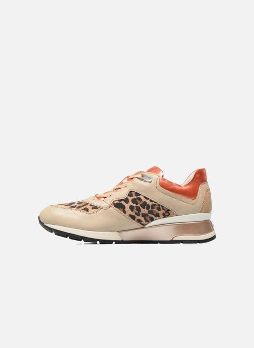Sneakers Geox D SHAHIRA A D44N1A Beige voorkant