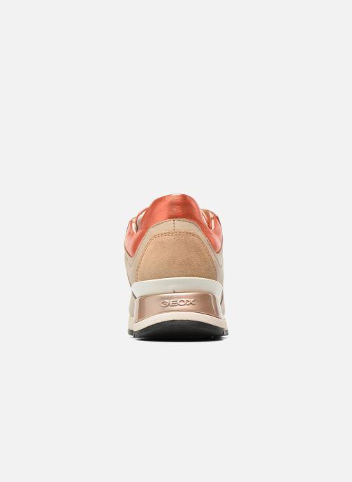 Sneaker Geox D SHAHIRA A D44N1A beige ansicht von rechts