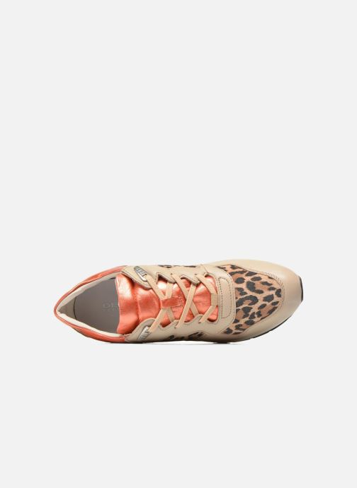 Sneakers Geox D SHAHIRA A D44N1A Beige immagine sinistra