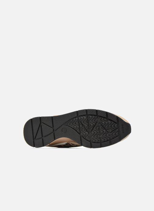 Sneaker Geox D SHAHIRA A D44N1A beige ansicht von oben