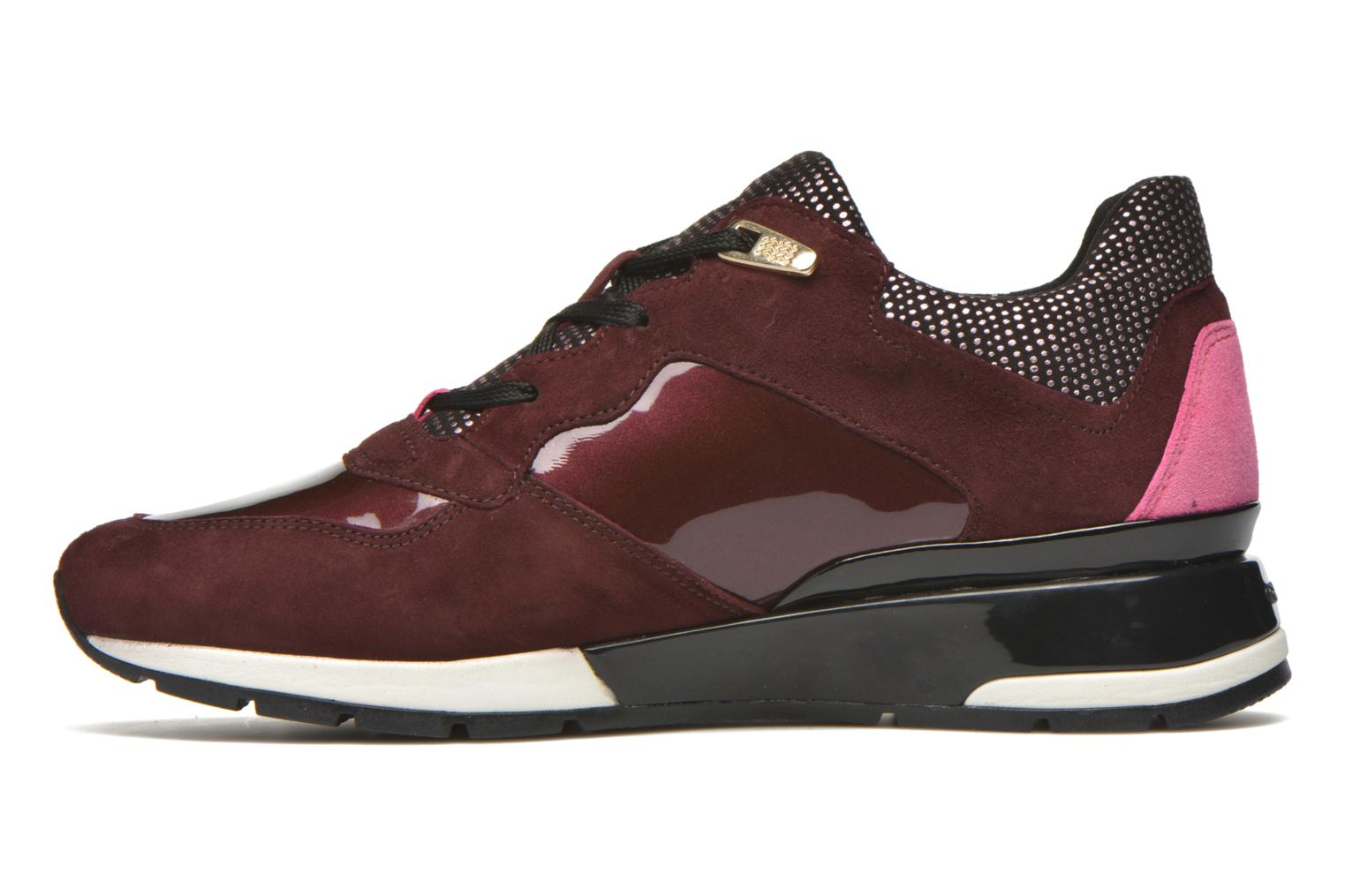 Trainers Geox D SHAHIRA A D44N1A Burgundy front view