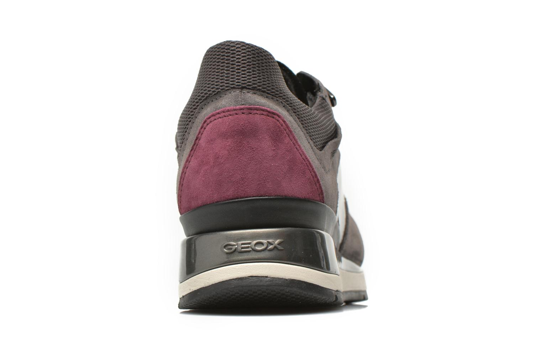 Sneaker Geox D SHAHIRA A D44N1A grau ansicht von rechts