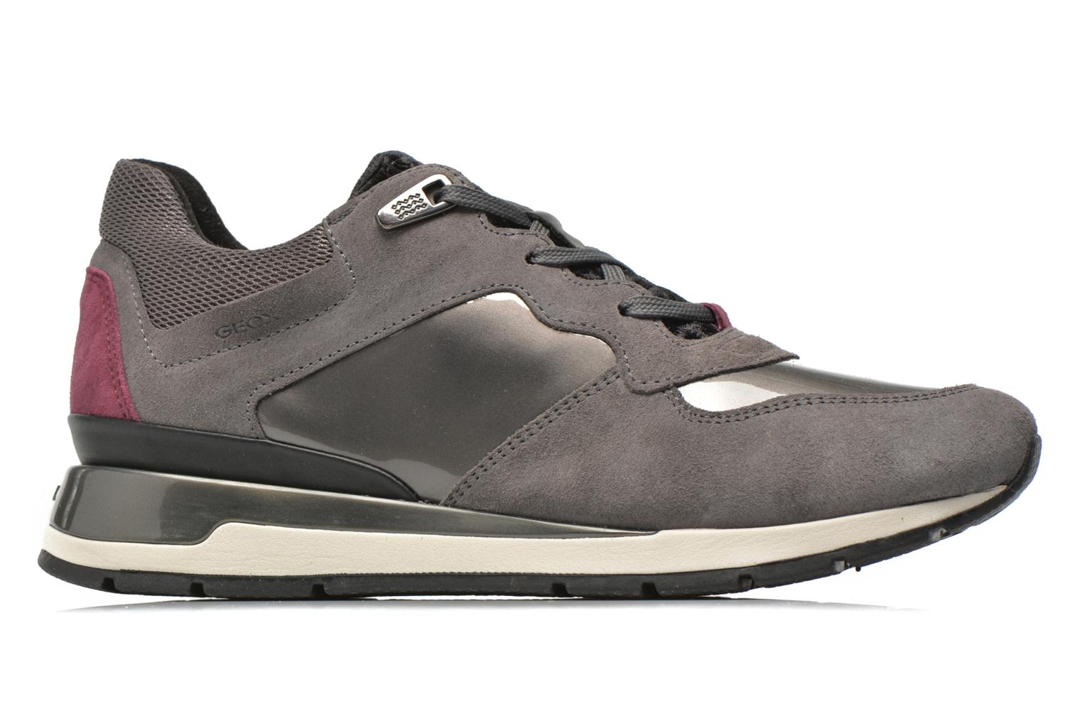 Sneakers Geox D SHAHIRA A D44N1A Grigio immagine posteriore