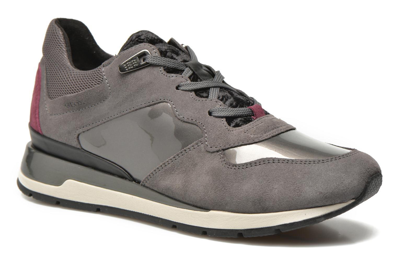Sneaker Geox D SHAHIRA A D44N1A grau detaillierte ansicht/modell