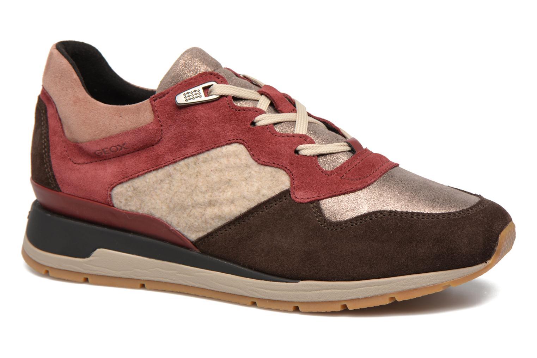 Sneakers Geox D SHAHIRA A D44N1A Multi detaljeret billede af skoene