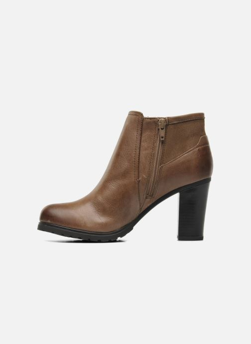 Bottines et boots Geox DONNA TRISH D44U4B Marron vue face