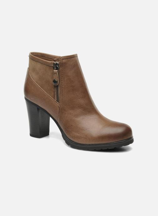 Bottines et boots Geox DONNA TRISH D44U4B Marron vue détail/paire